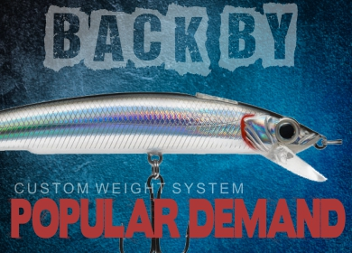 best jerk bait crank bait lure HD XXL dynamic lures