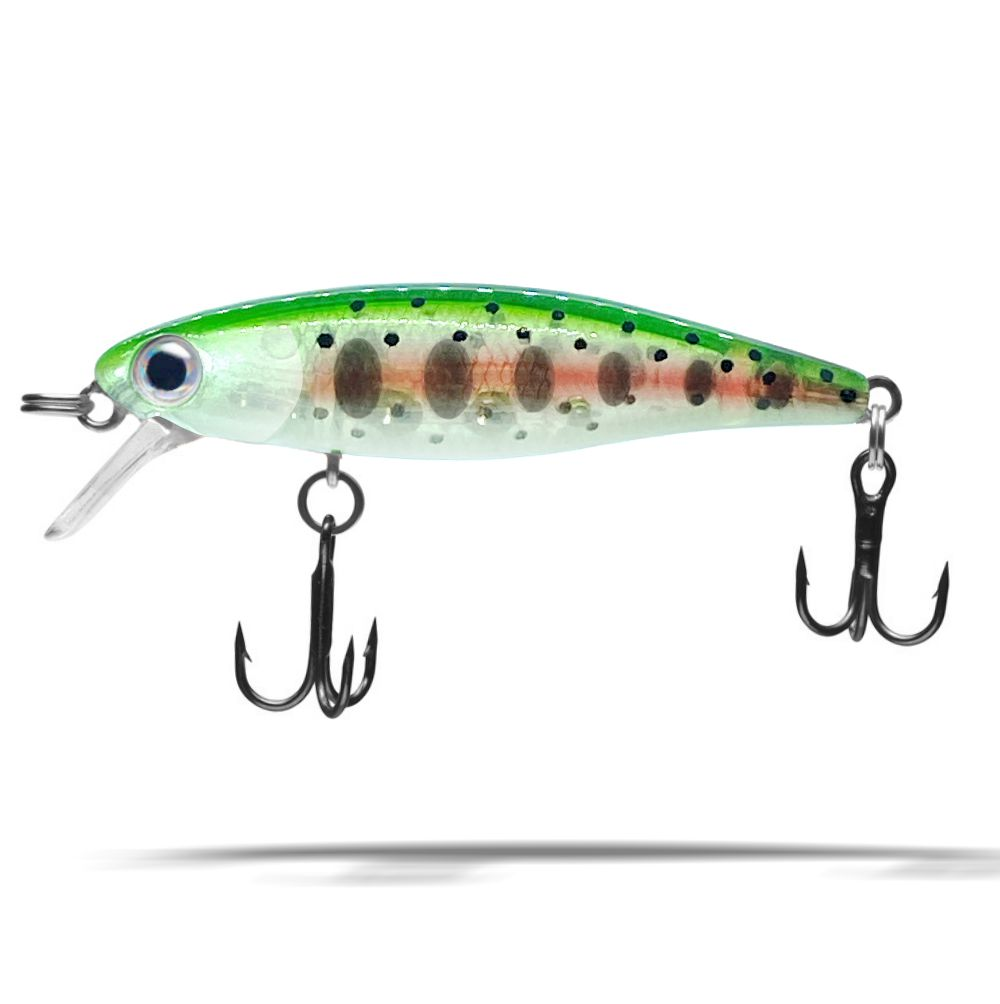 NEW Fishing Lure Dynamic Lures HD Trout Dark Halo